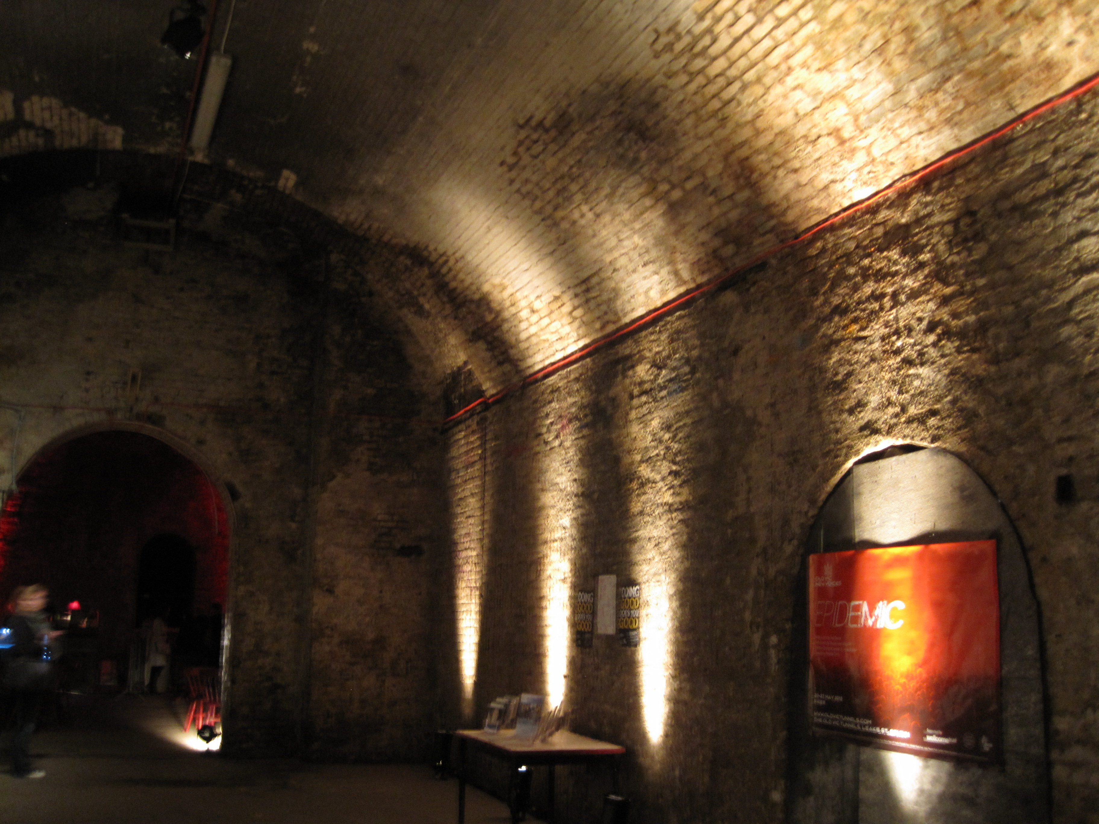 Inside Epidemic at the Old Vic Tunnels
