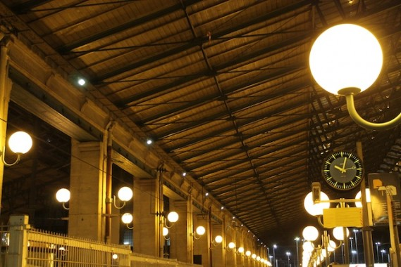The lights Gare du Nord