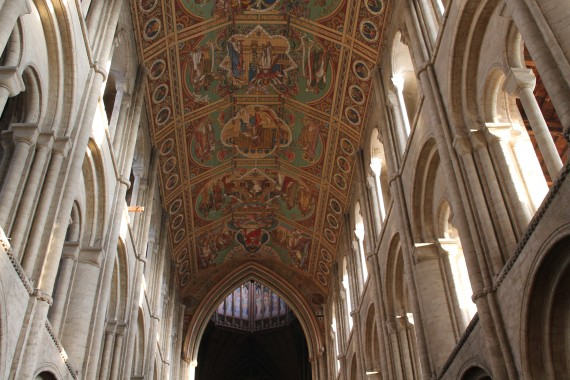 Ely Cathedral Ceiling © Sophie Collard