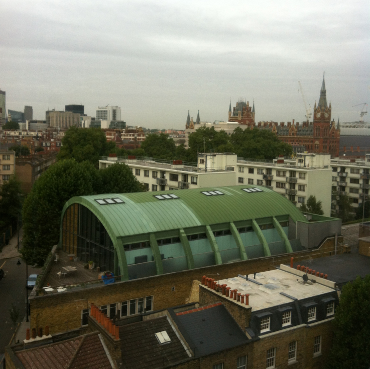 The view from Tune Hotels King's Cross © Sophie Collard