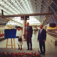 Queen Unveils Plaque for 20th Anniversary of Channel Tunnel Opening