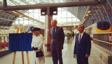 Queen St Pancras 20th Anniversary Channel Tunnel