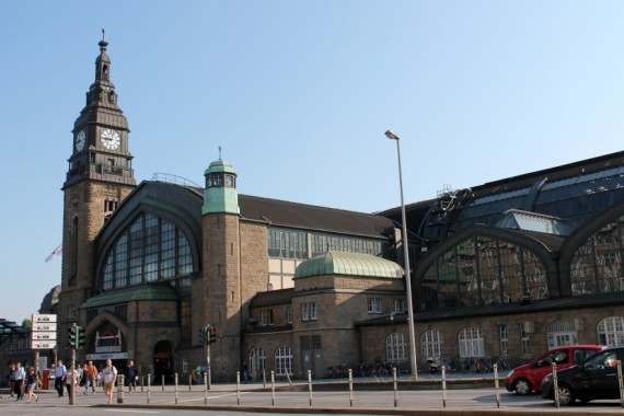 Hamburg Station. © Sophie Collard