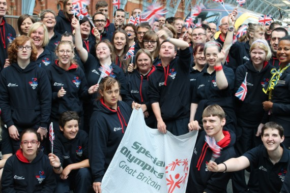 The Special Olympics GB Team. © Sophie Collard