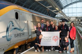 Eurostar Take the Special Olympics GB Team to the Summer Games 2014