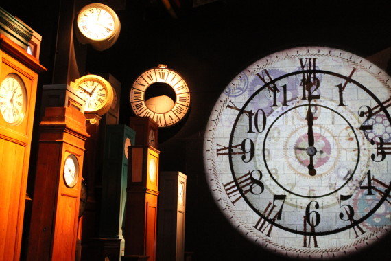 Railway Clocks at Train World, Brussels. © Sophie Collard